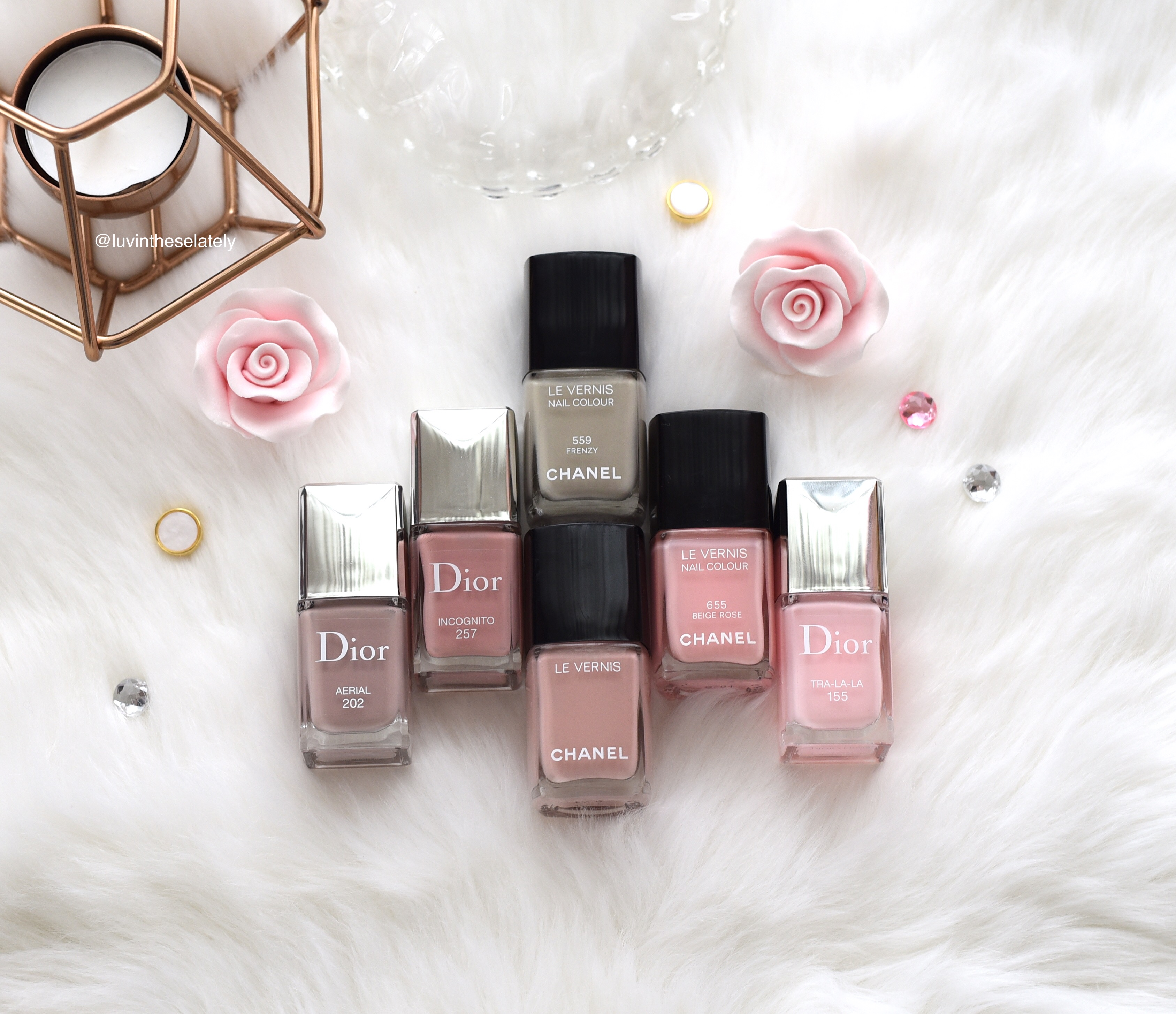 LuvinThese16in2016 : Dior Vernis and Chanel Le Vernis ...