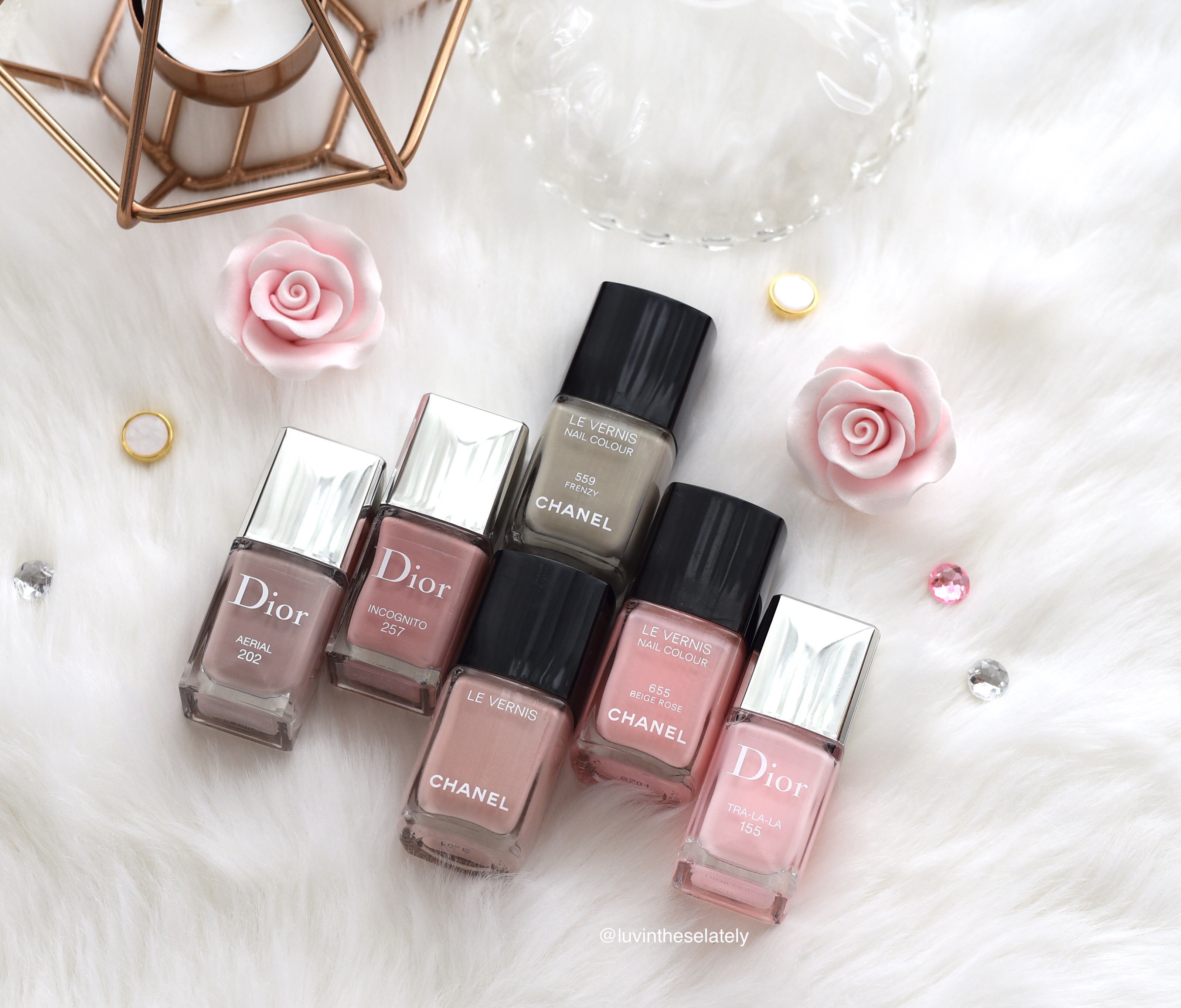 Luvinthese16in2016 Dior Vernis And Chanel Le Vernis